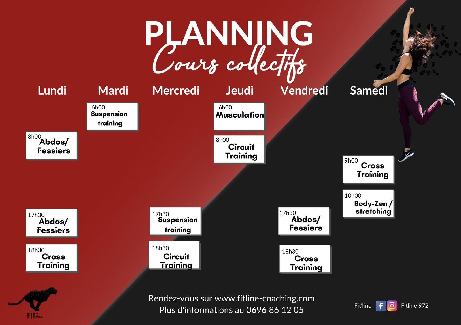Planning septembre 2021